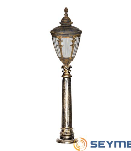 bahçe aydınlatma armatürü süslü çıtalı fener serisi-1512