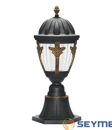 bahçe aydınlatma armatürü taçlı fener serisi-1516