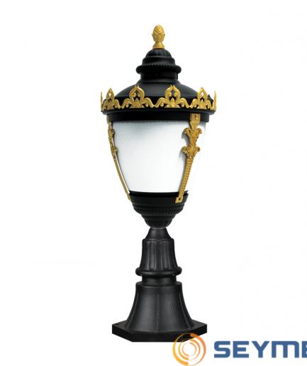 bahçe aydınlatma armatürü taçlı fener serisi-1518