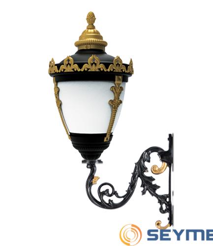 duvar aydınlatma armatürü taçlı fener serisi-1515-1