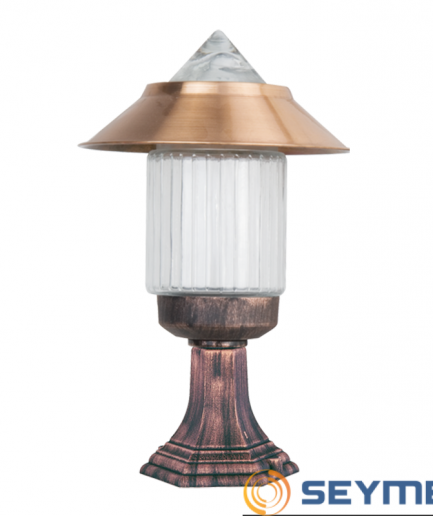 bahçe-aydınlatma-apliği-bakır-şapkalı-camlı-fener-serisi-1762
